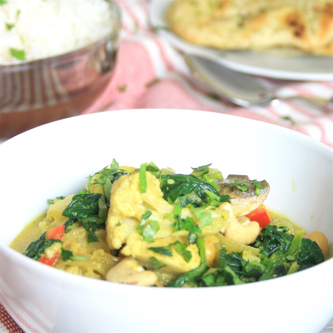 Vegetable Coconut Curry – Vegan and GF Edit
