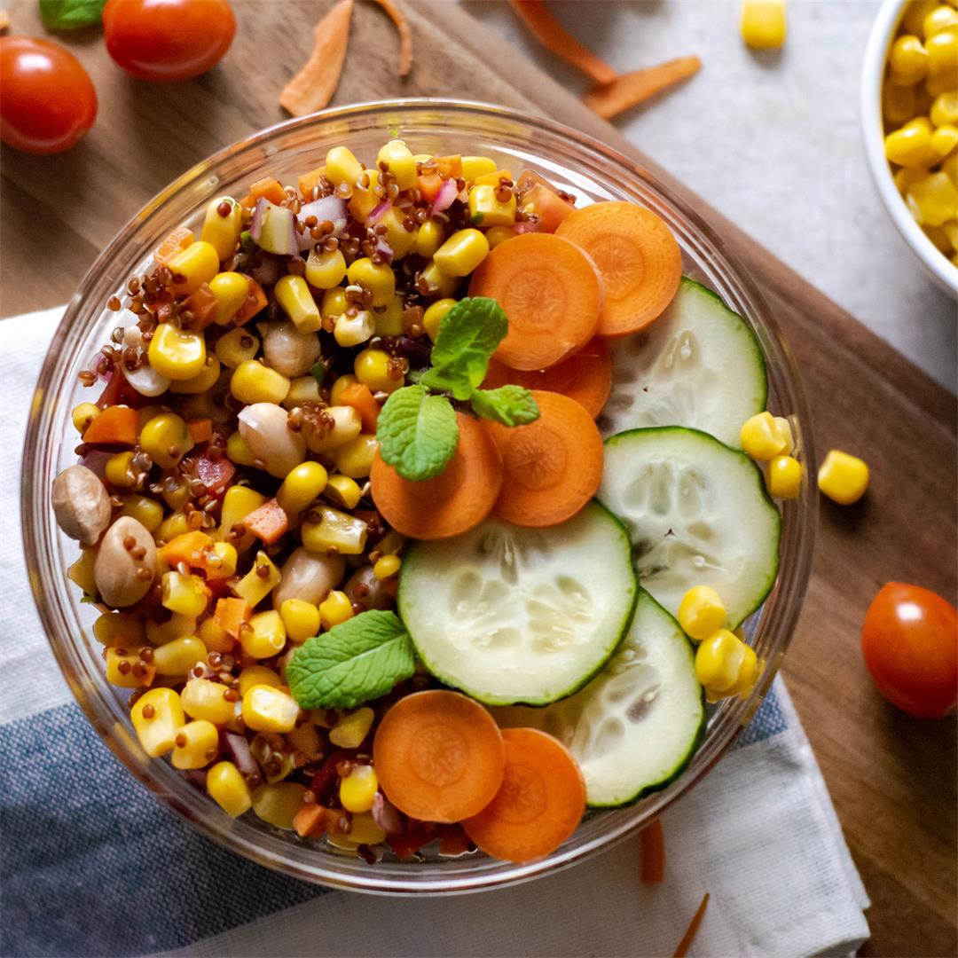 Sweet Corn Quinoa Salad