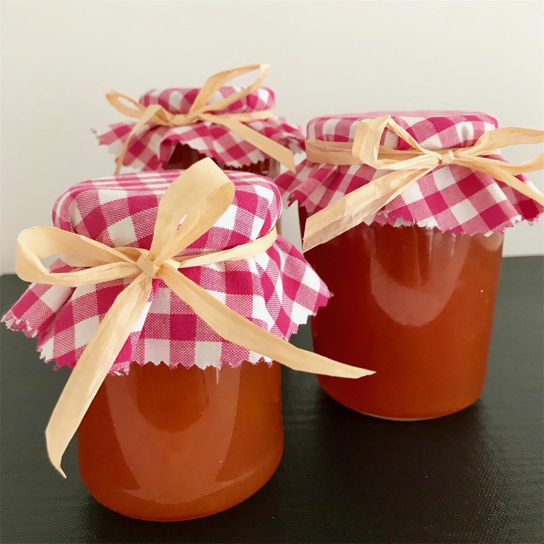 Apricot Jam - Homemade!