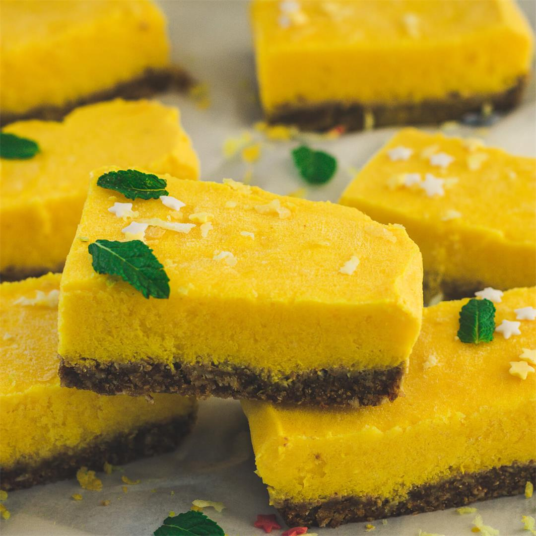 Raw Mango And Pineapple Slices (vegan + gluten-free)