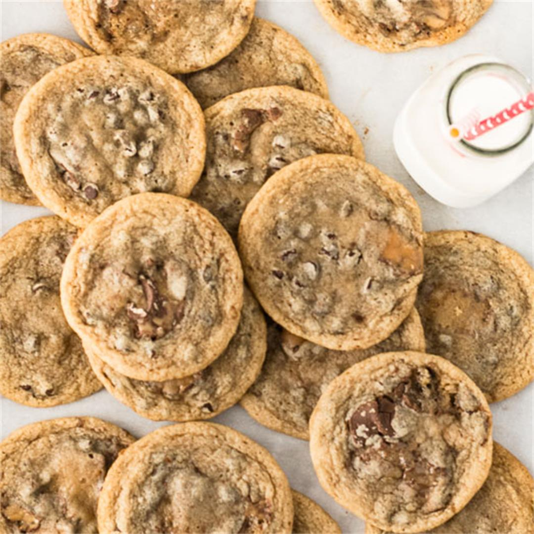 One Bowl Rolo Cookies