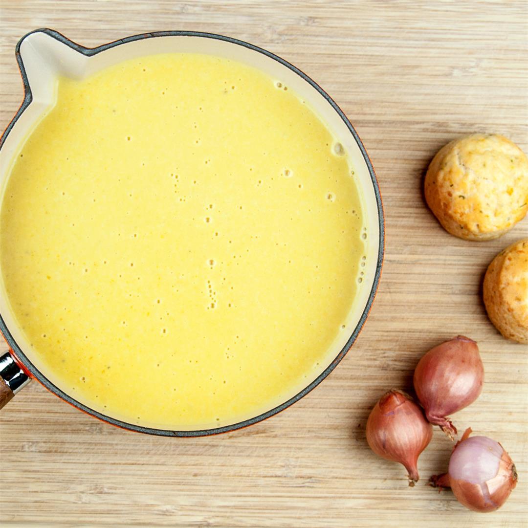 Cream of Garlic and Onion Soup