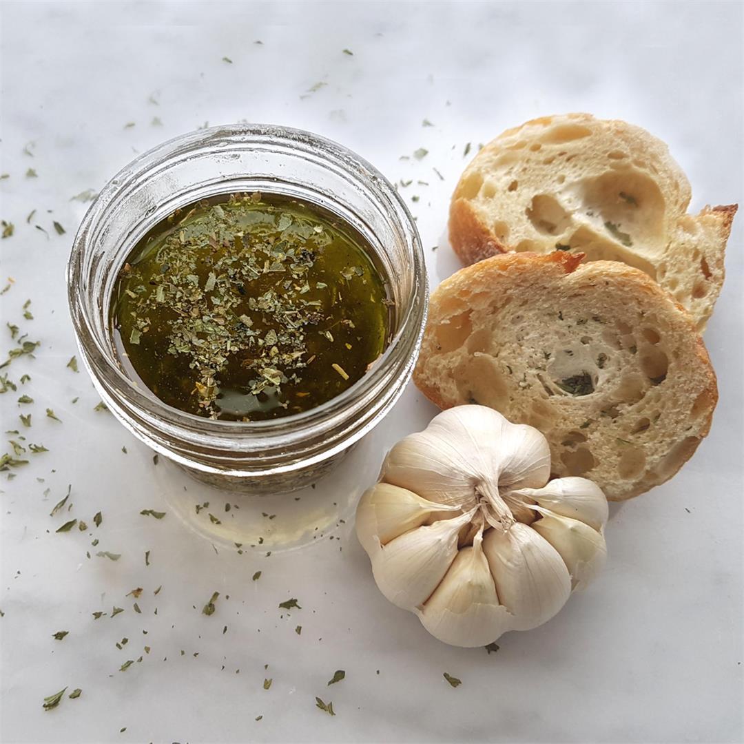 Garlic Dipping Oil