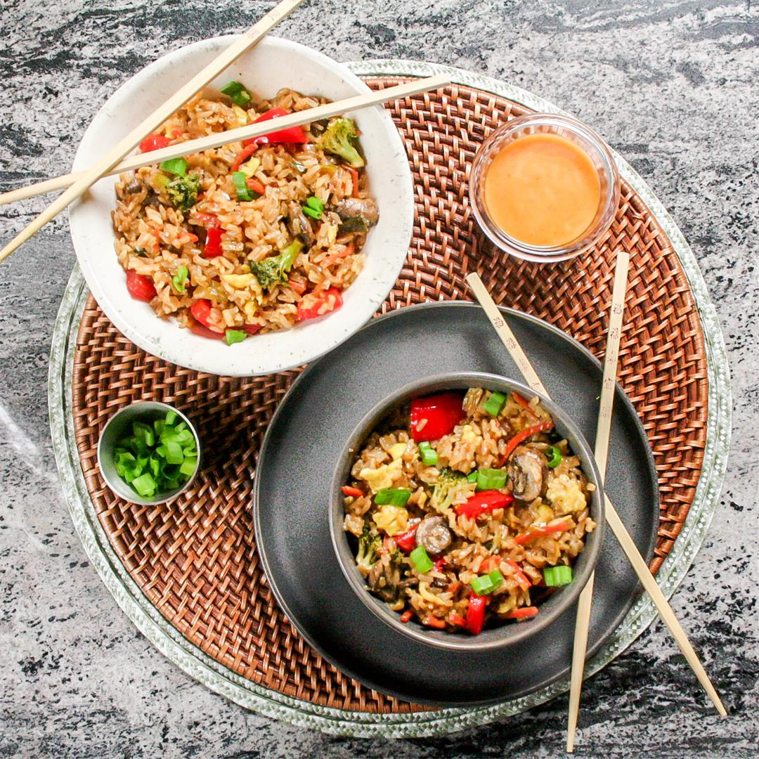 Hibachi Style Fried Rice