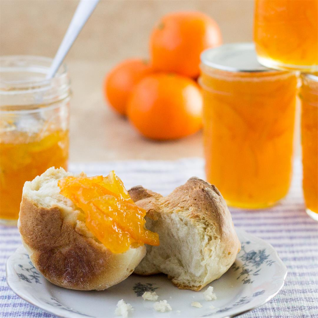 Tangy Tangerine Marmalade - a break from orange marmalade