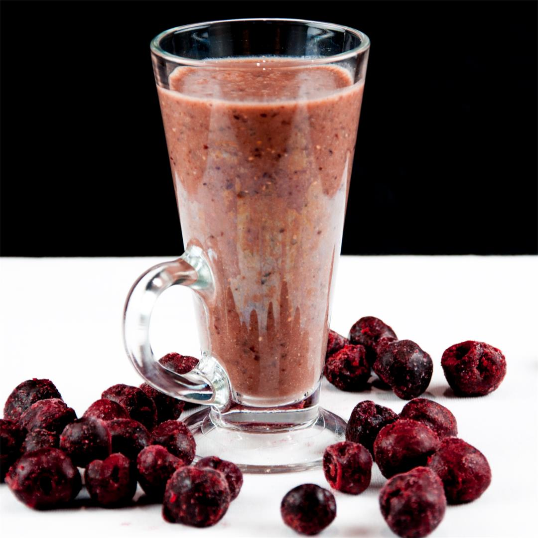 Cherry and Chia Smoothie