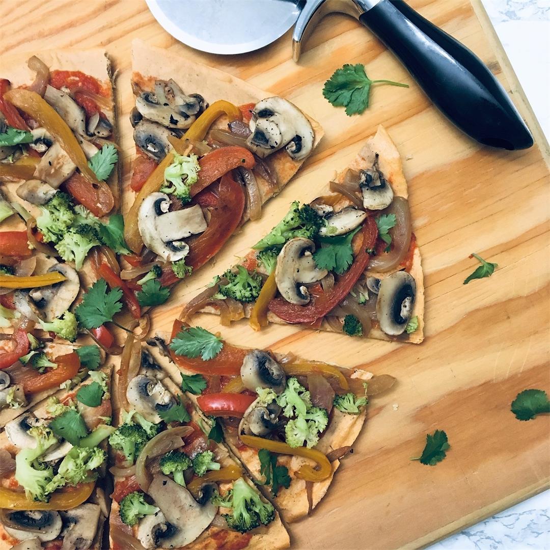 Lentil Pizza Crust – Gluten Free