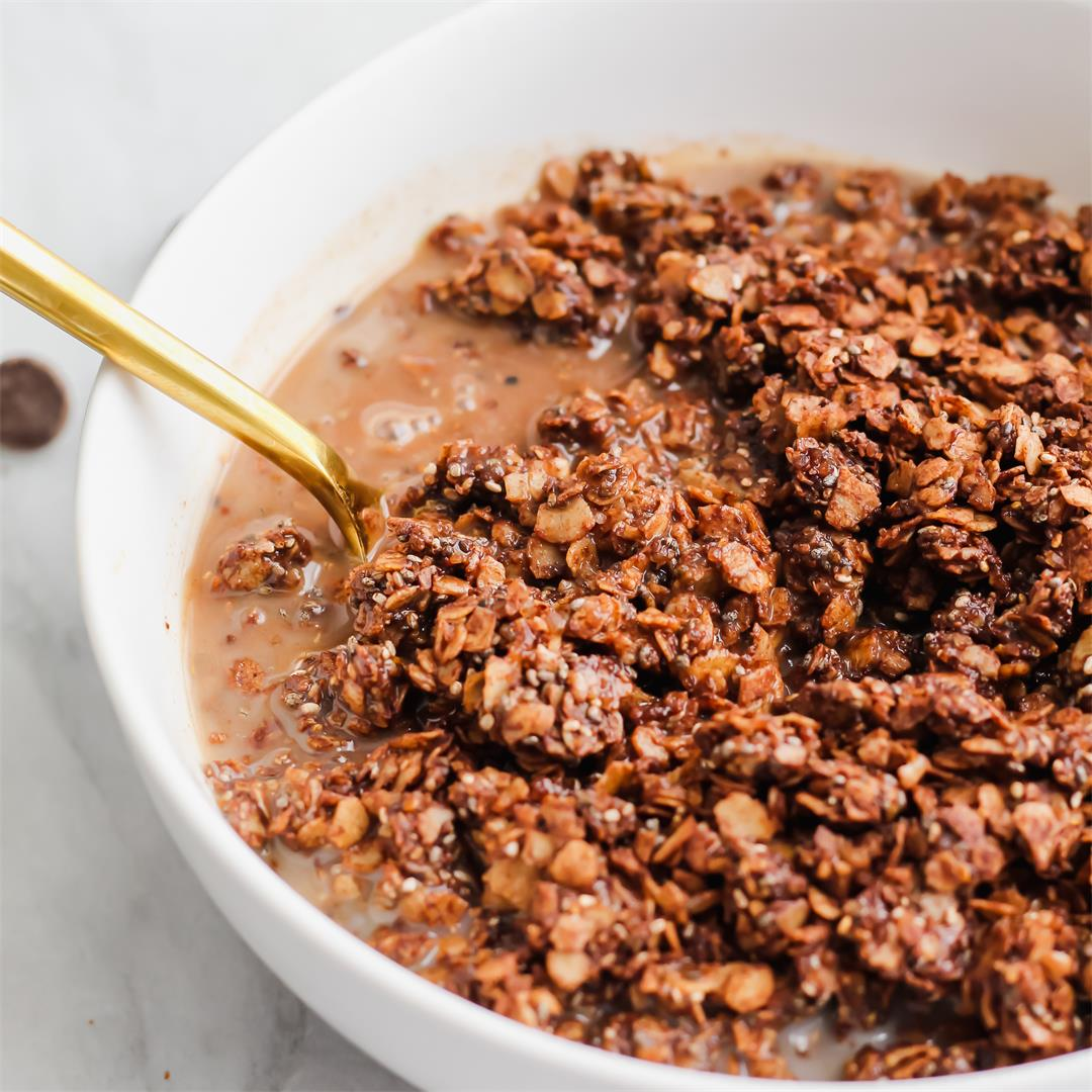 Chocolate Coffee Granola