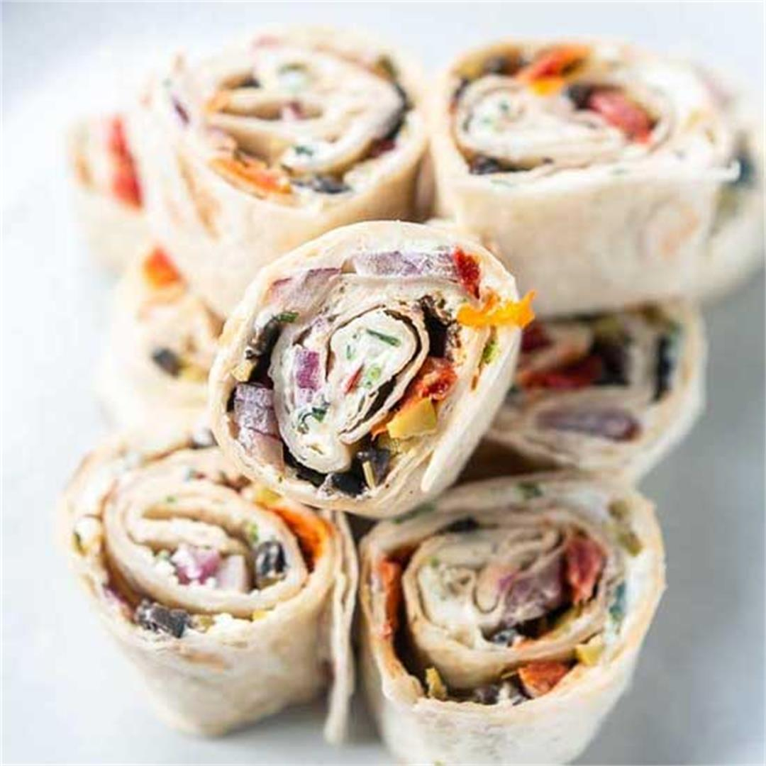 Cream cheese pinwheels