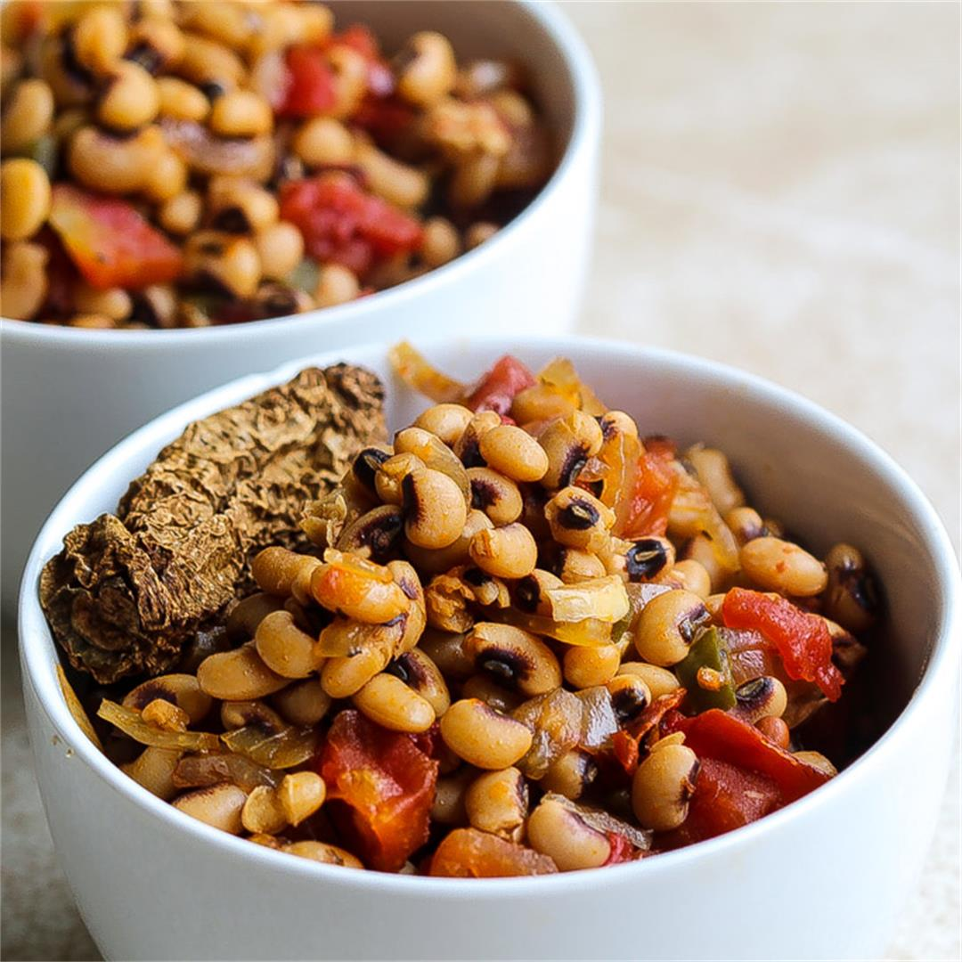 InstaPot Blackeyed Peas Recipe