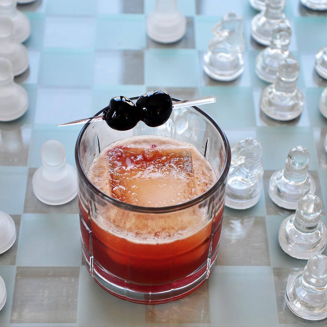 Classic Bourbon Manhattan