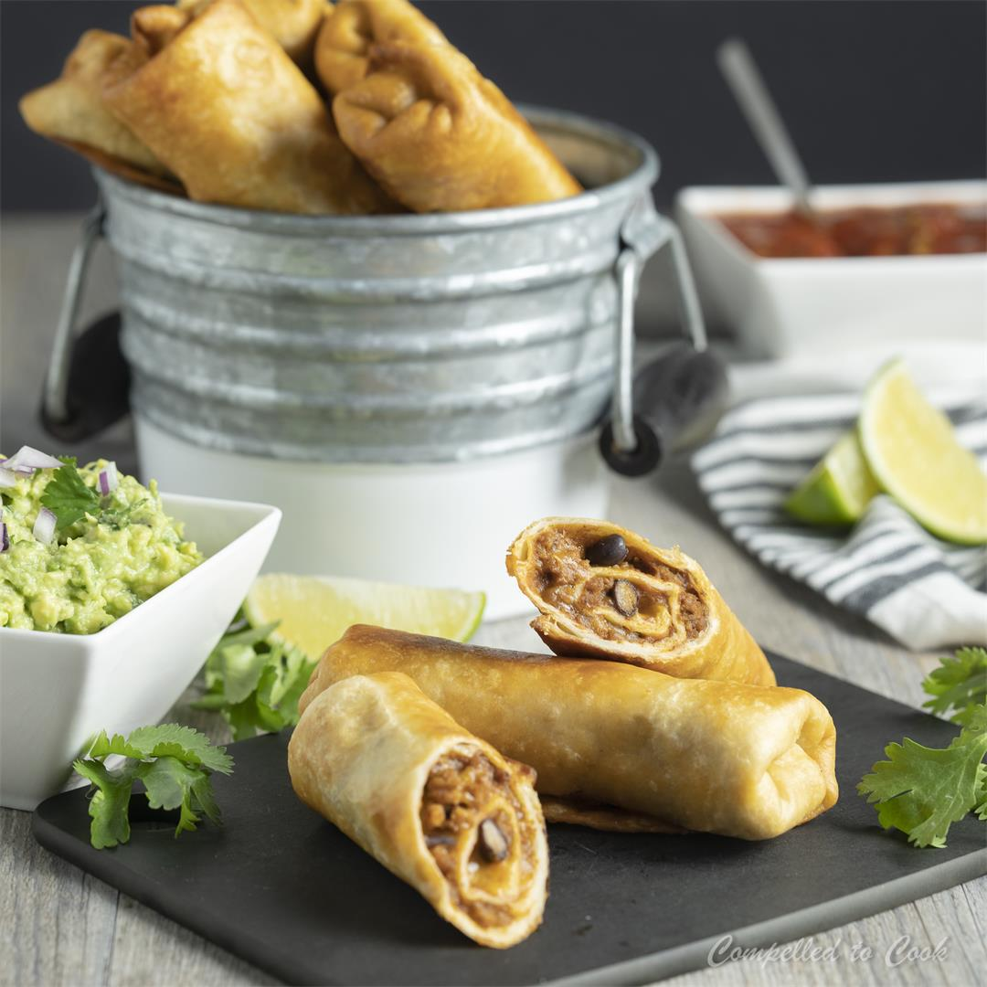 Chili Tortilla Roll Ups