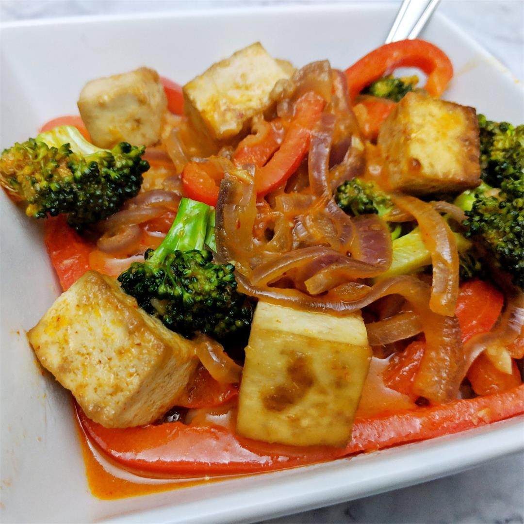 Tofu Thai Red Curry