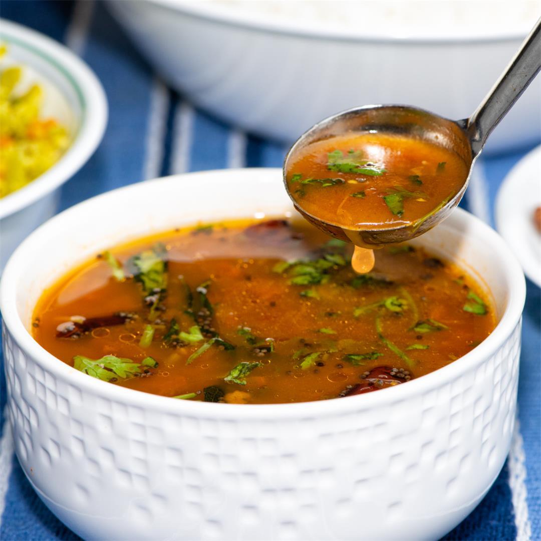 Tomato Rasam / Homemade Tomato Rasam Recipe/ Tomato soup