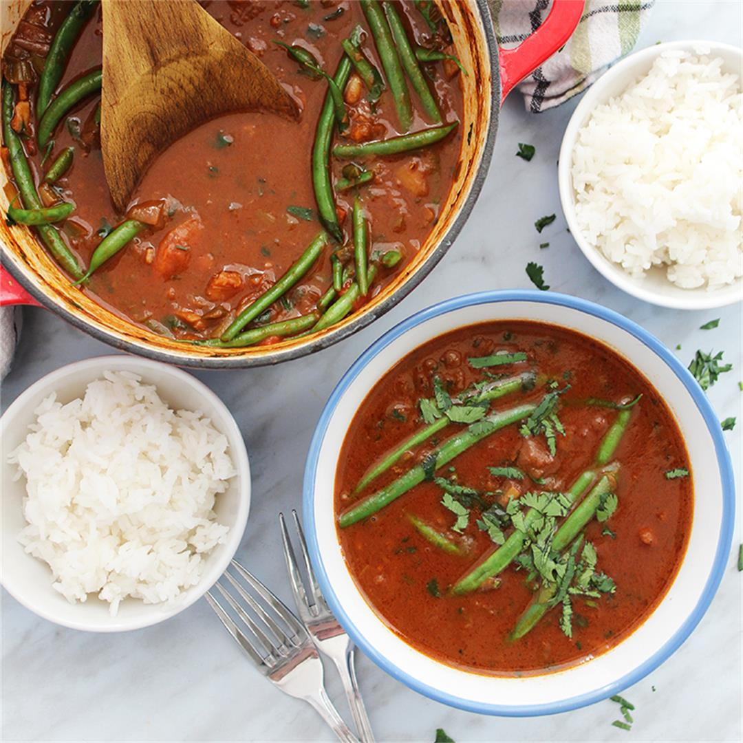Beef Curry Stew with Coconut Milk