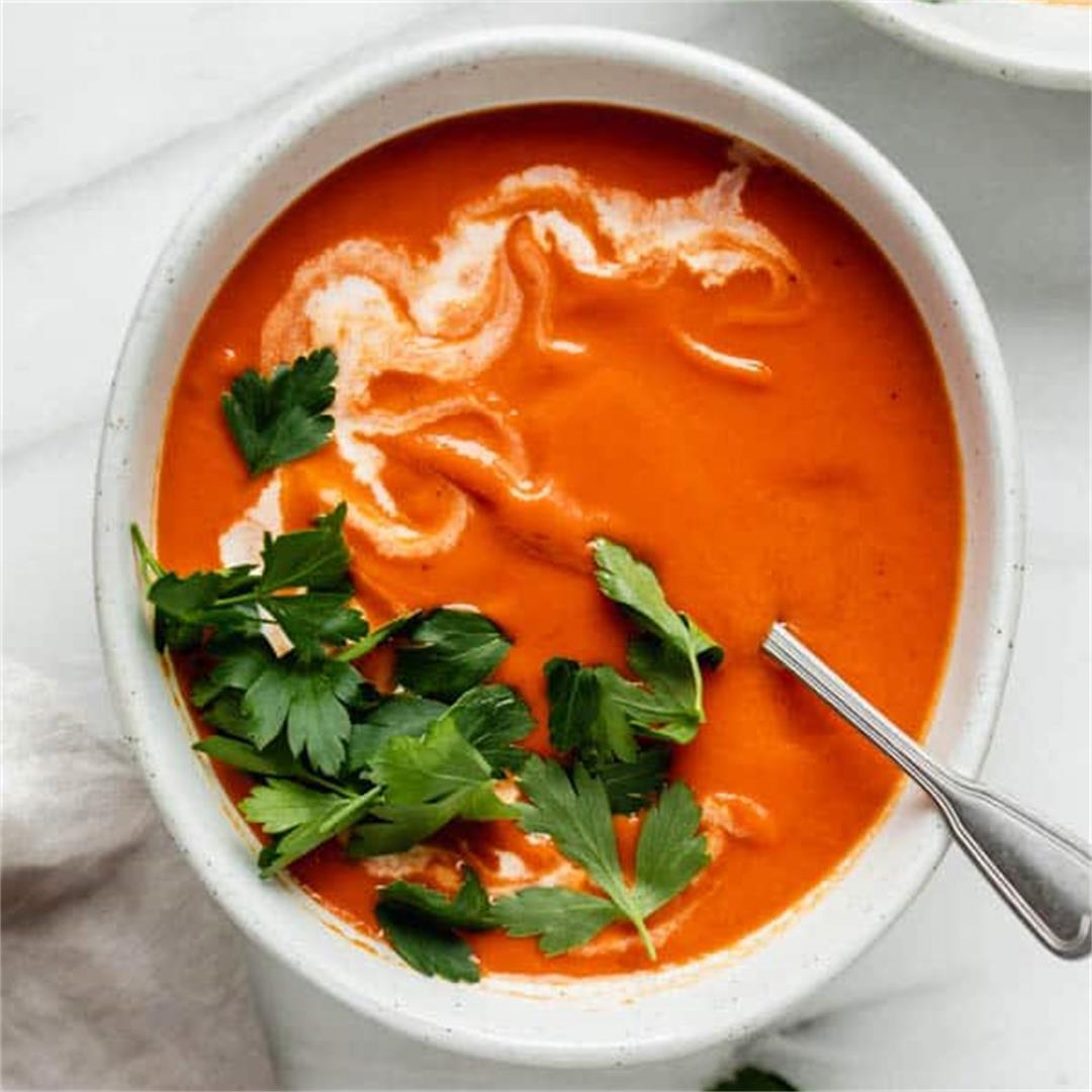 Creamy Vegan Tomato Soup