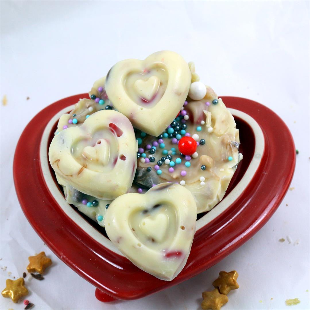 Here's my heart – Homemade Chocolate Heart