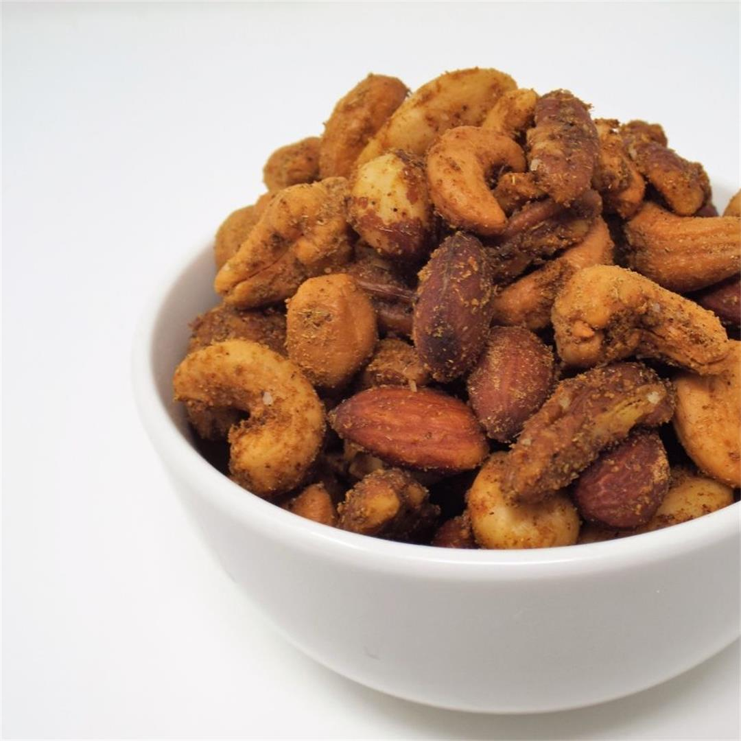 Quick & Easy Spiced Nuts