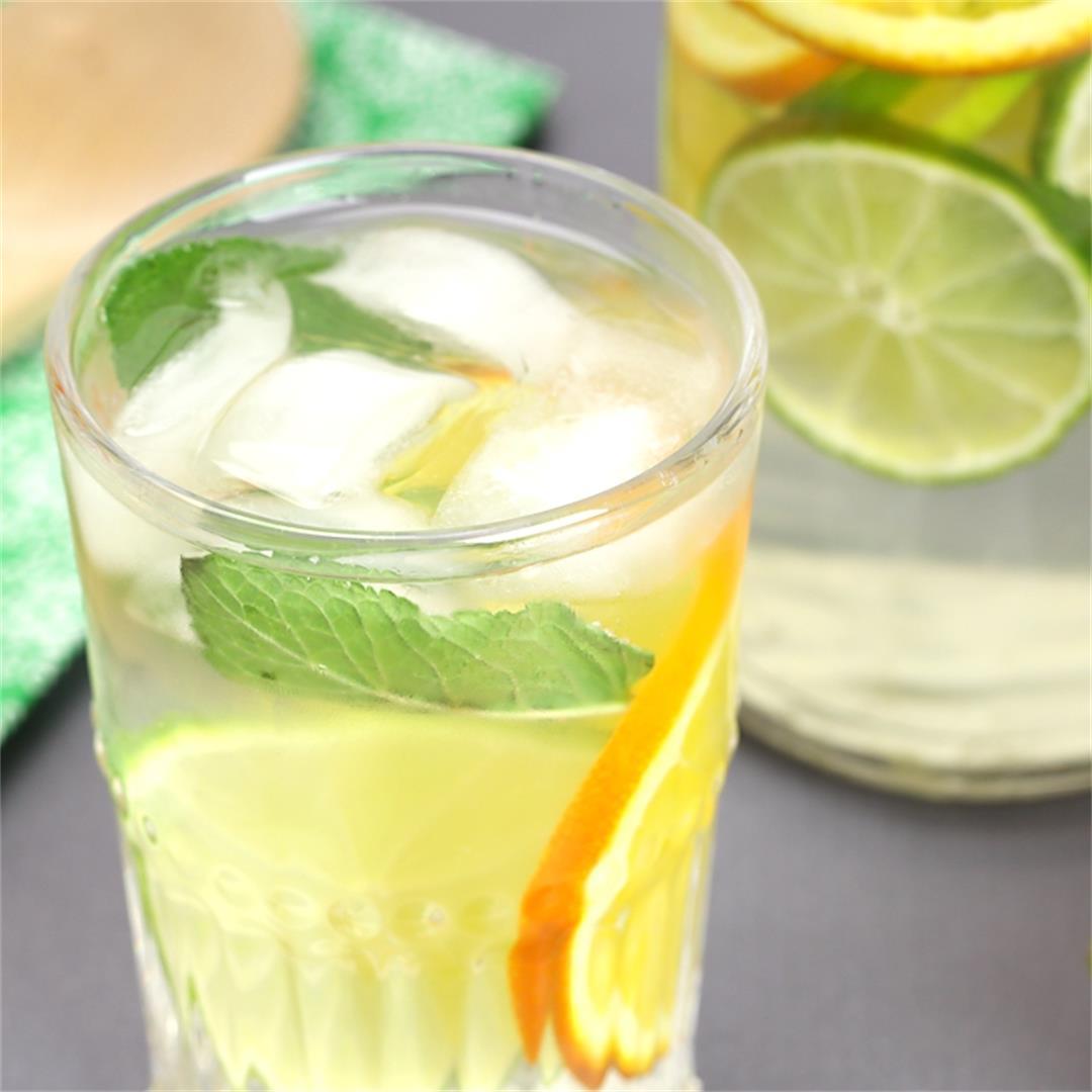 Orange Mojito Flavored Water
