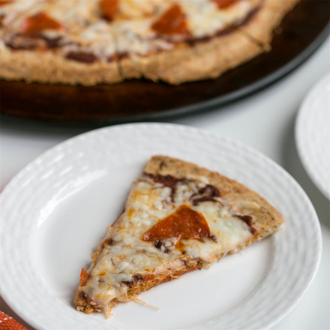 Almond Flour Crust Pizza