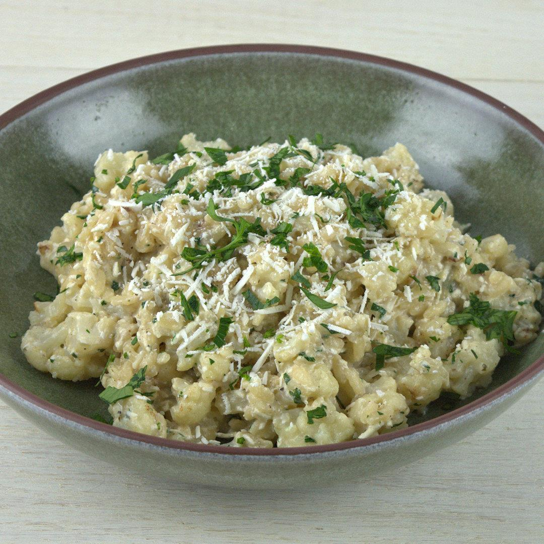 Cauliflower Risotto with Mizithra Cheese