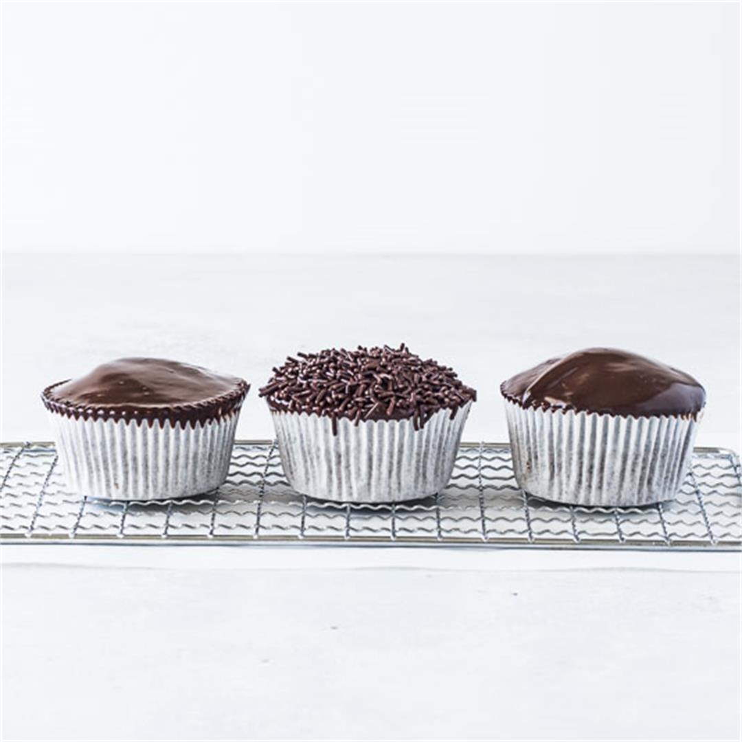 Chocolate Ganache Cupcakes