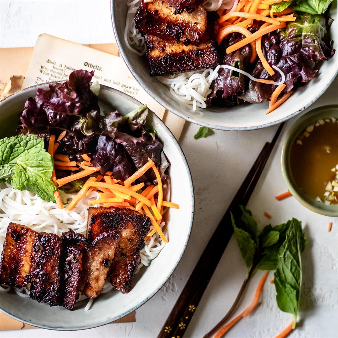 Pork Belly Vermicelli Bowl