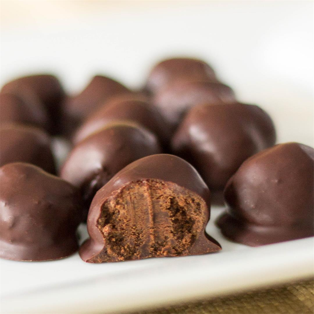 Sugar Free Dark Chocolate Truffles