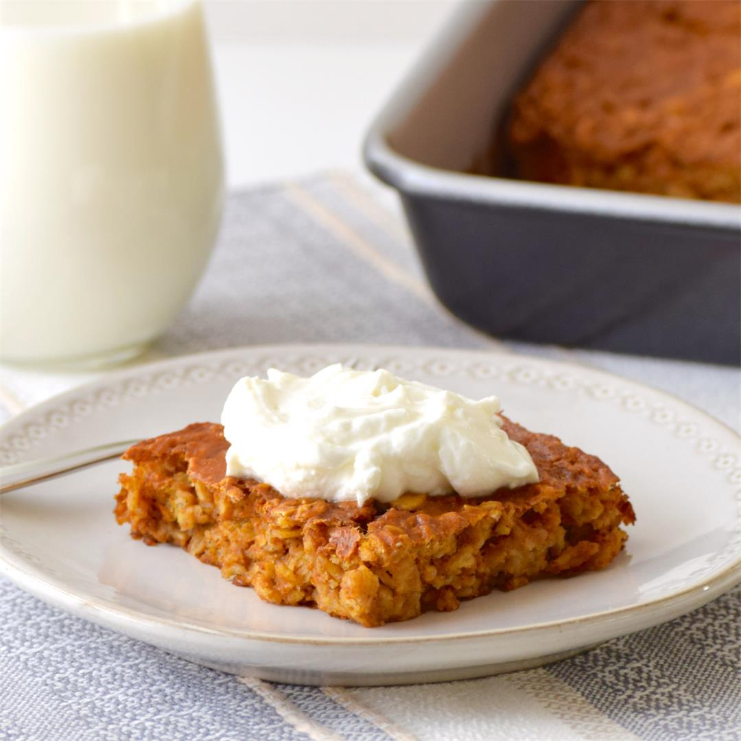 The perfect cozy, pumpkin-spiced breakfast for cold mornings.