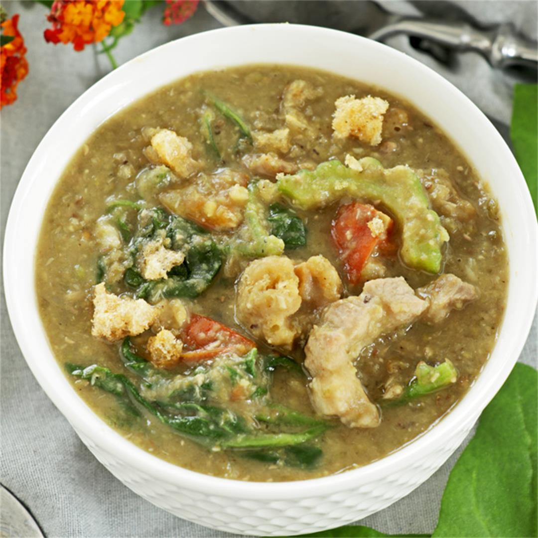 Mung Bean Soup (Ginisang Munggo)