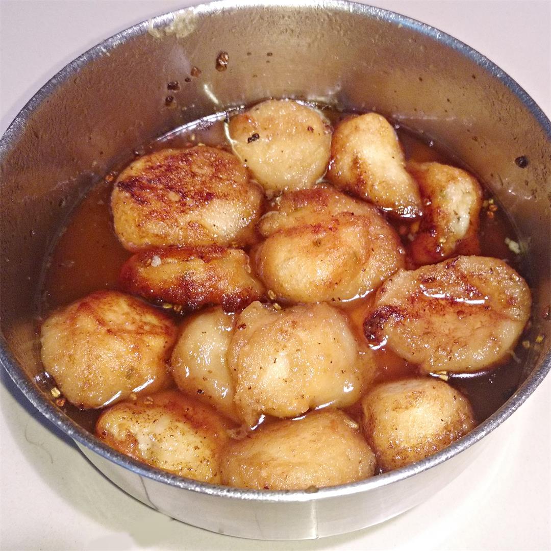 RoshoBora or Rosbora-- urad dal fritter soaked in sugar syrup