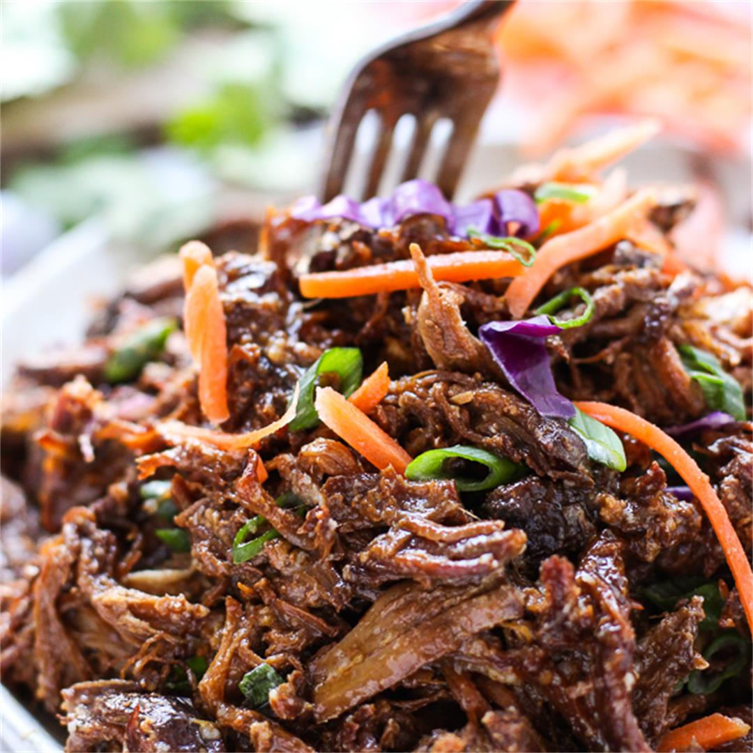 Slow Cooker Asian Shredded Pork