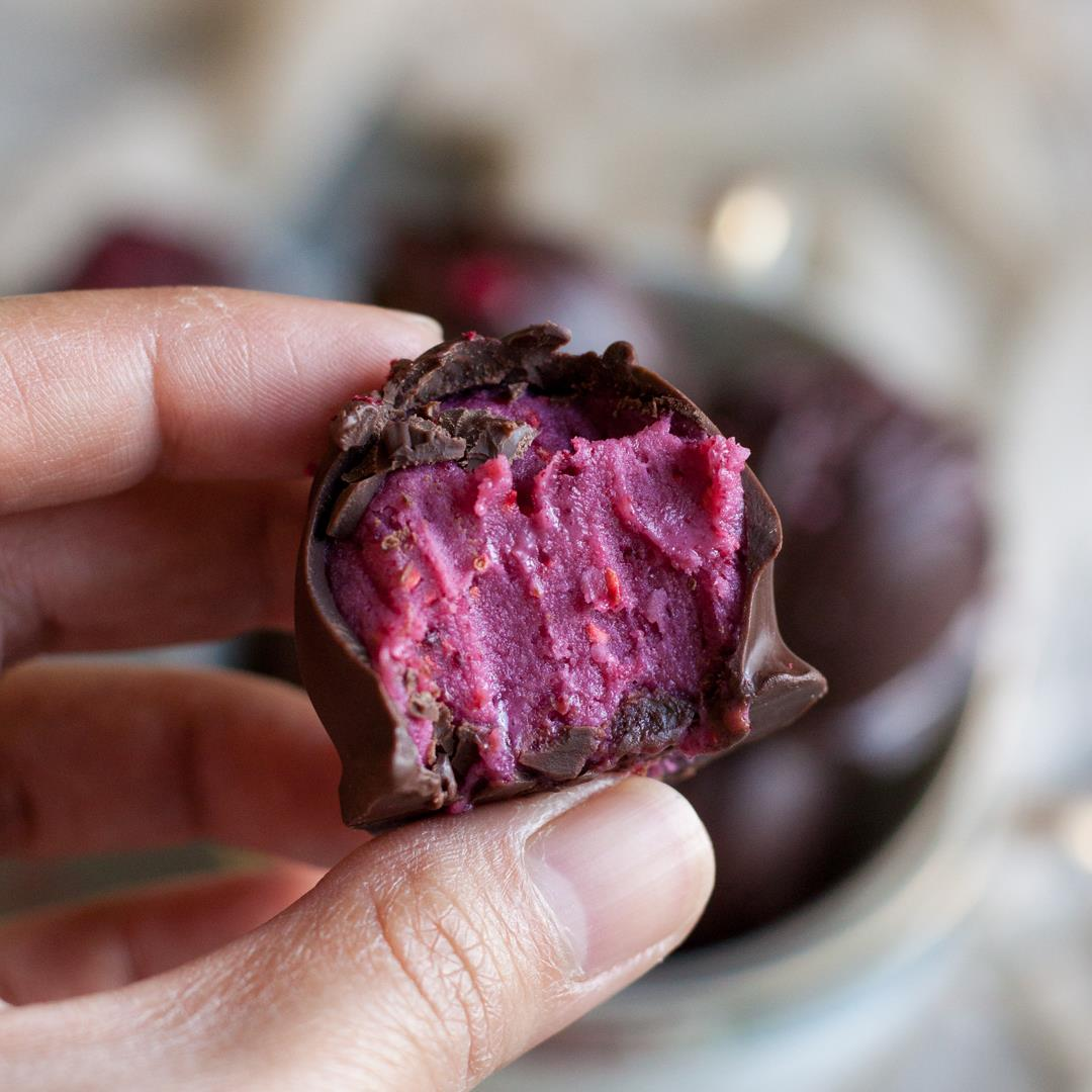 Raspberry Chocolate Truffle Recipe