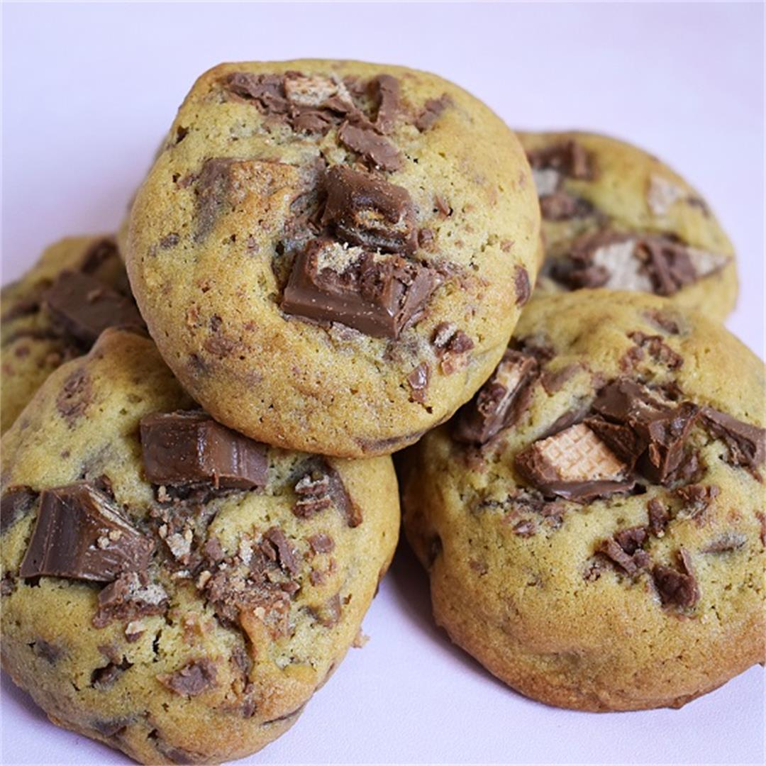 KitKat Chocolate Chip Cookies