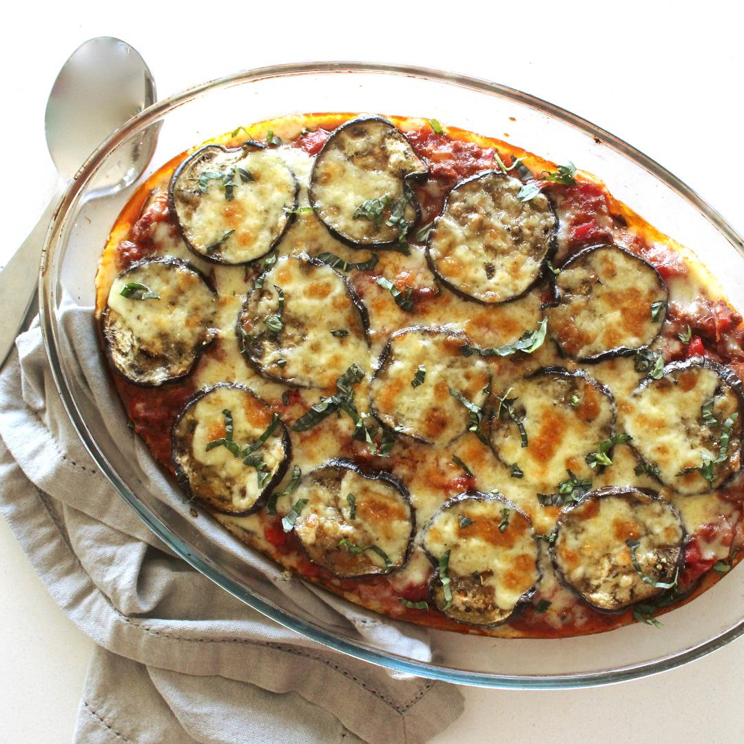 Cheats Healthy Beef & Brinjal Moussaka