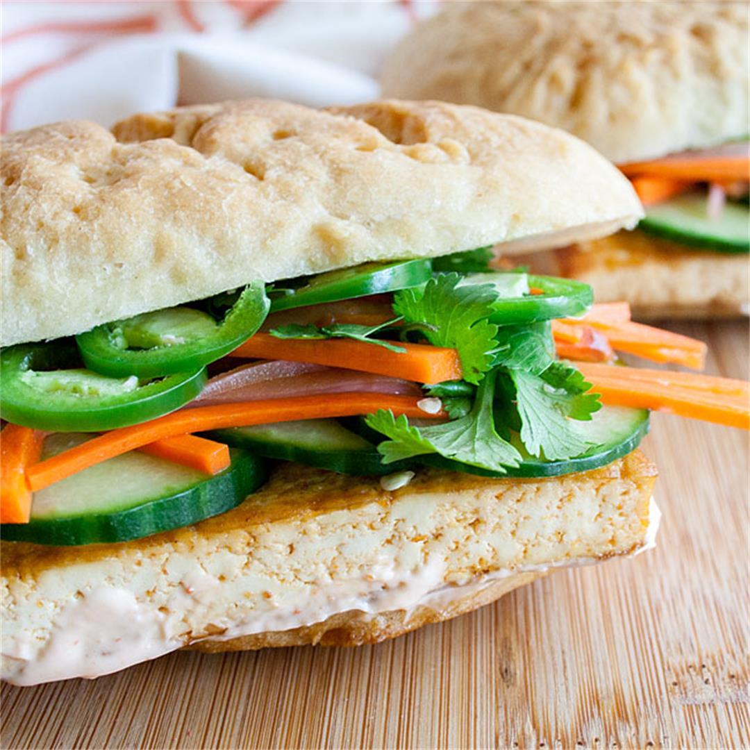 Spicy Tofu Bánh Mì
