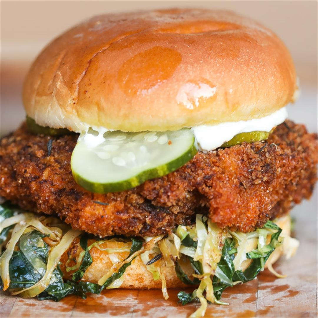 Nashville Hot Shrimp Sandwich Sandwich