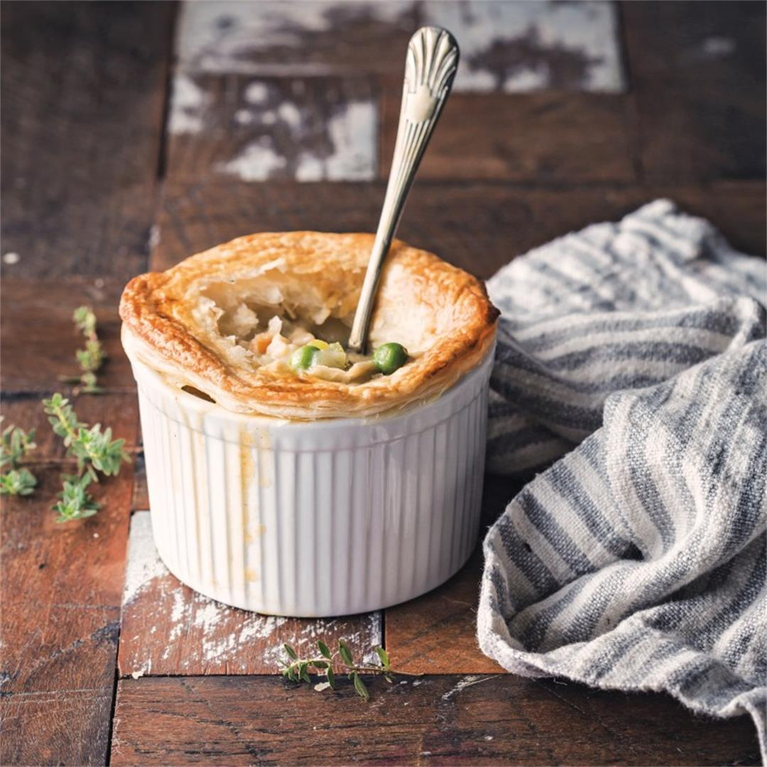 Game-changing Vegan Pot Pies