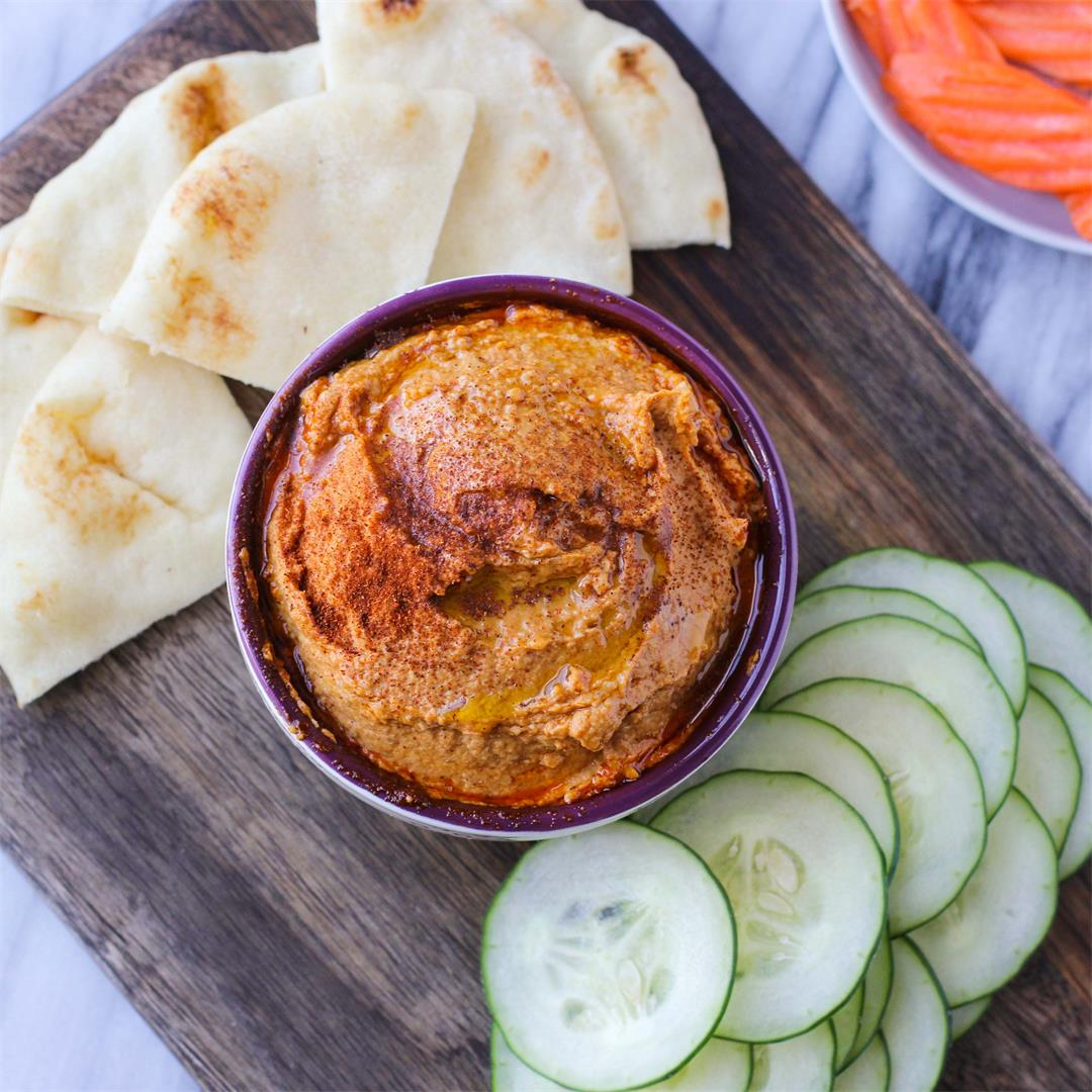 Spicy Harissa Hummus
