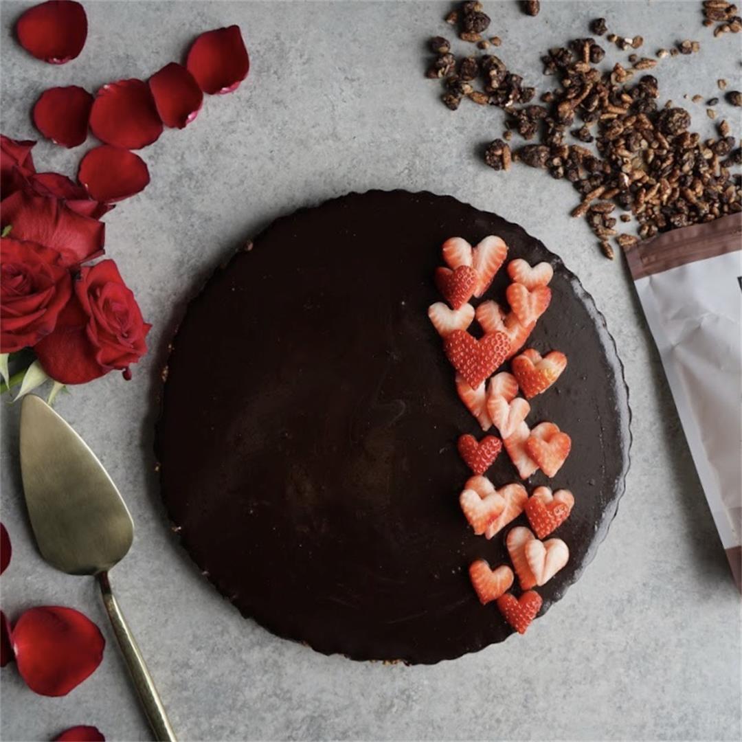 Vegan Double Chocolate Tart