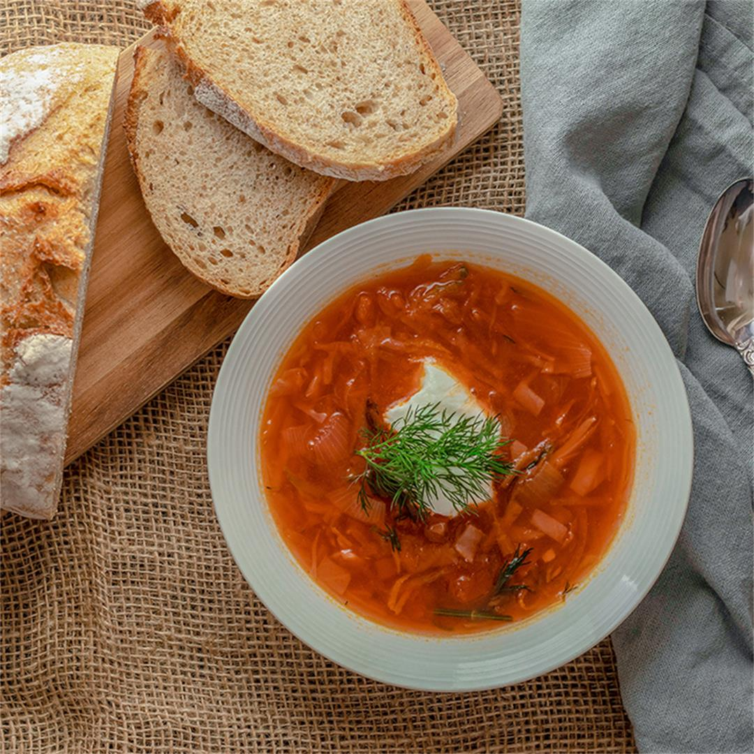 The Best Russian Borscht