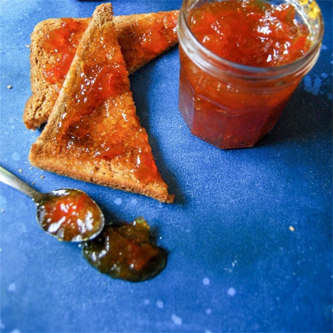 Easy Seville Orange Marmalade