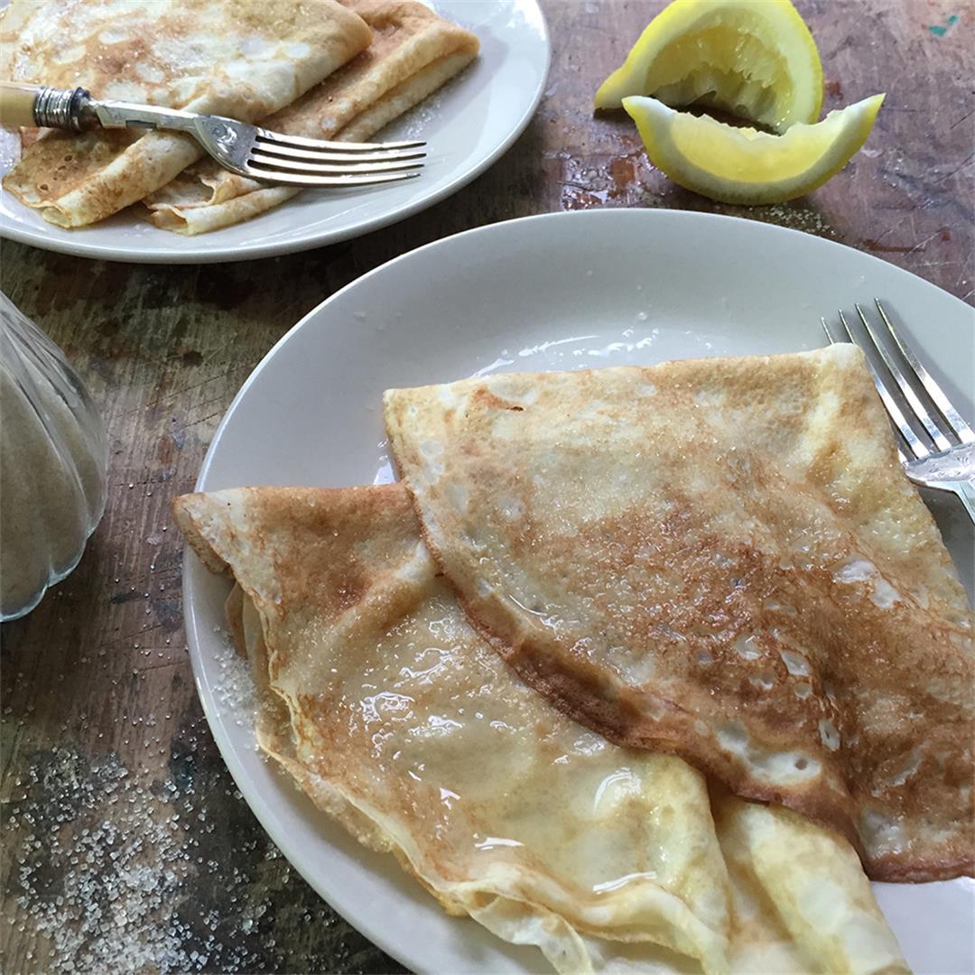 How to Make Pancakes (English Pancakes)