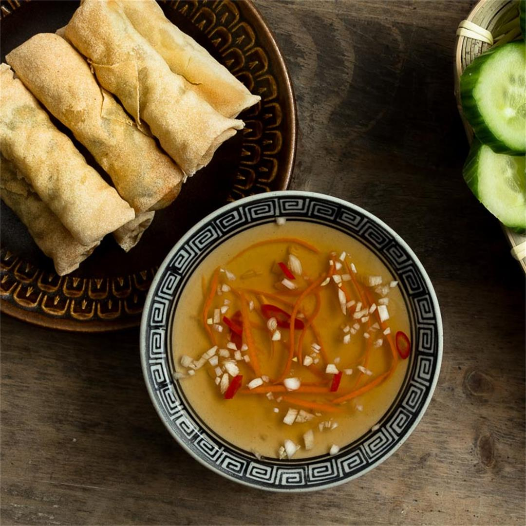 Vietnamese Fish Sauce Dipping Sauce (Nuoc Cham / Nuoc Mam)