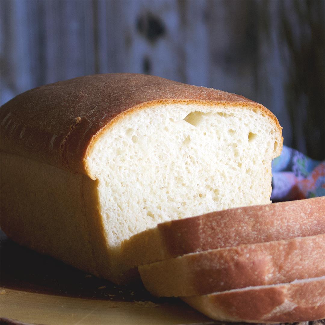 3-Hour Homemade Sandwich Bread