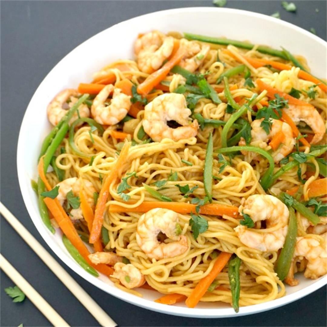 Spicy Shrimp Noodles