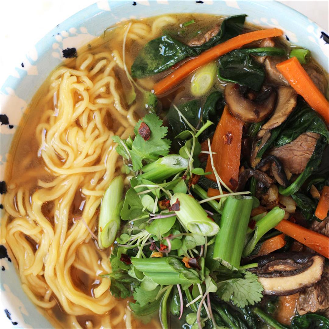 Beef Udon Bowls