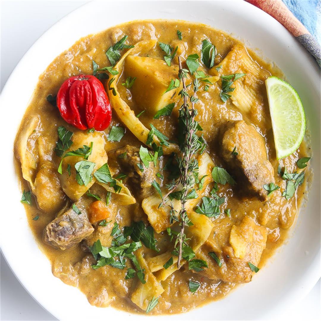 Soup Joumou (Haitian Beef and Pumpkin Soup)