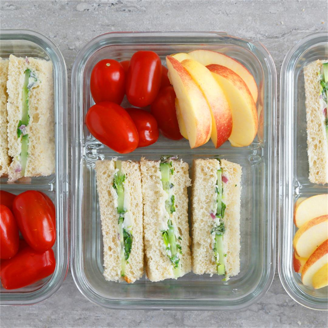 Cucumber Sandwiches Meal Prep