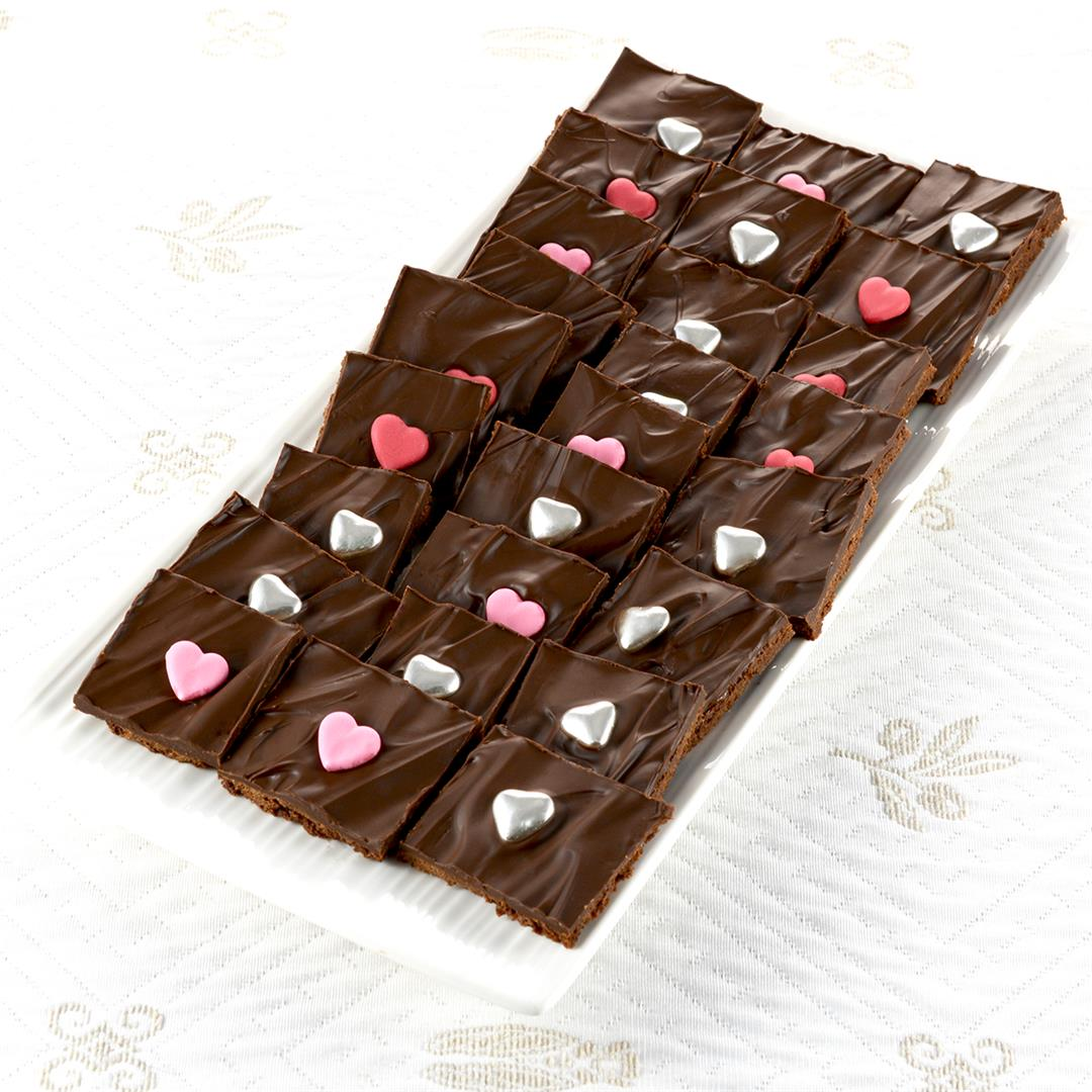 Chocolate Brownie Brittle Bark